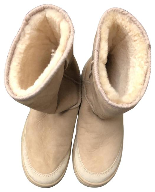 Item - Tan Boots/Booties Size US 6 Wide (C, D)