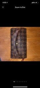 Louis Vuitton damier long leather wallet