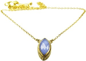 Anna Beck ANNA BECK Gili Sterling Silver Lavender Chalcedony Pendant Necklace