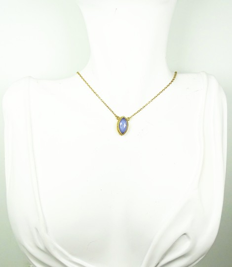 Anna Beck ANNA BECK Gili Sterling Silver Lavender Chalcedony Pendant Necklace Image 3