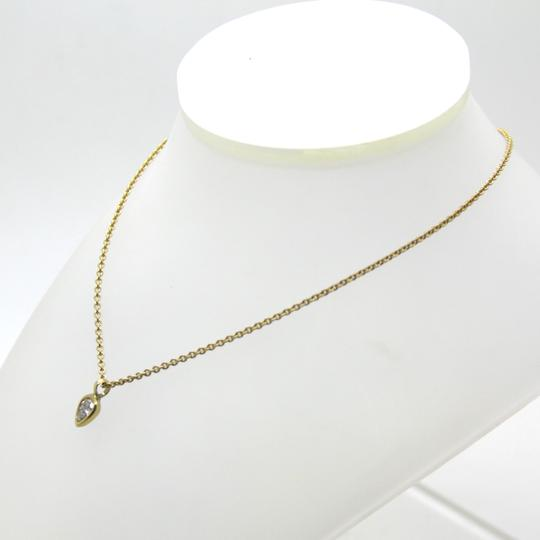 Me & Ro 18K Yellow Gold 0.40ct Diamond Tear Drop Pendant Necklace, 16 in Image 1