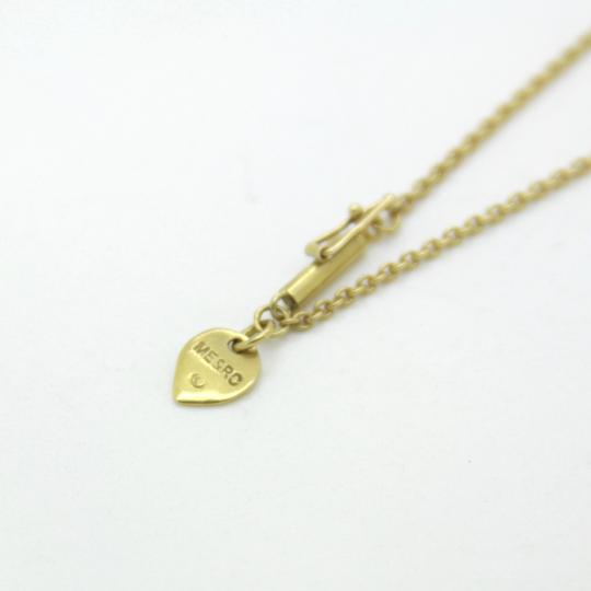 Me & Ro 18K Yellow Gold 0.40ct Diamond Tear Drop Pendant Necklace, 16 in Image 4