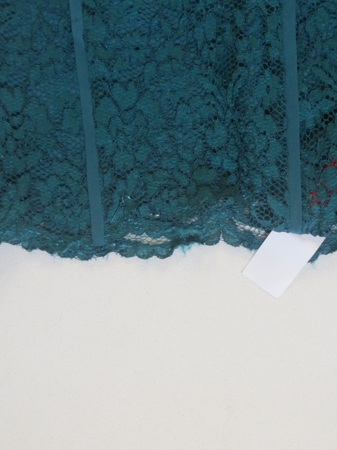 Tory Burch Pencil Lace Skirt Teal Image 2