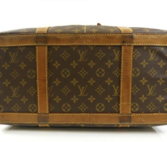 Louis Vuitton Sac Demi Lv Luggage Lv Monogrammed Carry On Brown Travel Bag Image 2