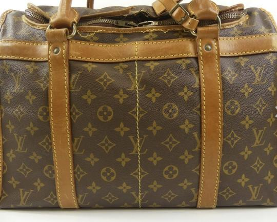 Louis Vuitton Sac Demi Lv Luggage Lv Monogrammed Carry On Brown Travel Bag Image 5