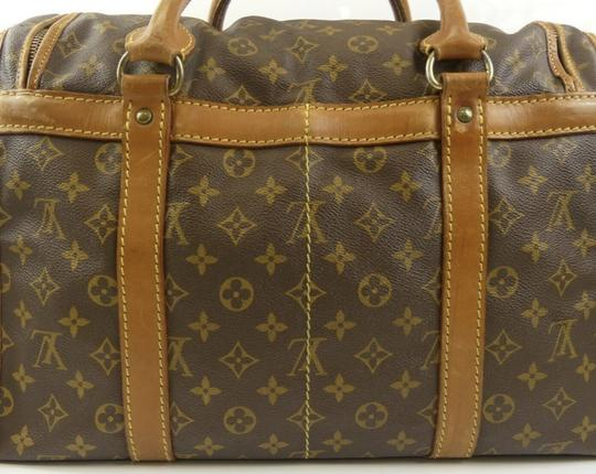 Louis Vuitton Sac Demi Lv Luggage Lv Monogrammed Carry On Brown Travel Bag Image 8
