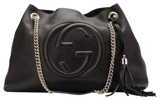 Preload https://img-static.tradesy.com/item/26025655/gucci-shoulder-bag-soho-pebbled-large-chain-black-calfskin-leather-tote-0-2-540-540.jpg