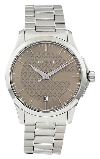 Preload https://img-static.tradesy.com/item/26025716/gucci-ya126445-g-timeless-stainless-steel-watch-0-1-540-540.jpg