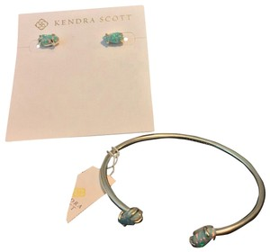 Kendra Scott set of Kendra Scott earrings and bracelet
