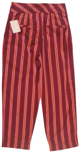 Item - Red Striped Pants Size 8 (M, 29, 30)