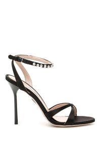 Miu Miu 5x011c Qu6 F0002 Black Sandals