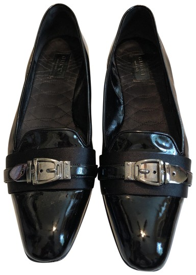 Preload https://img-static.tradesy.com/item/26025789/gucci-black-patent-leather-flats-size-us-85-regular-m-b-0-1-540-540.jpg
