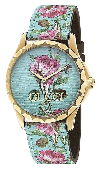 Preload https://img-static.tradesy.com/item/26025808/gucci-multi-color-ya1264085-g-timeless-yellow-gold-pvd-and-leather-watch-0-1-540-540.jpg