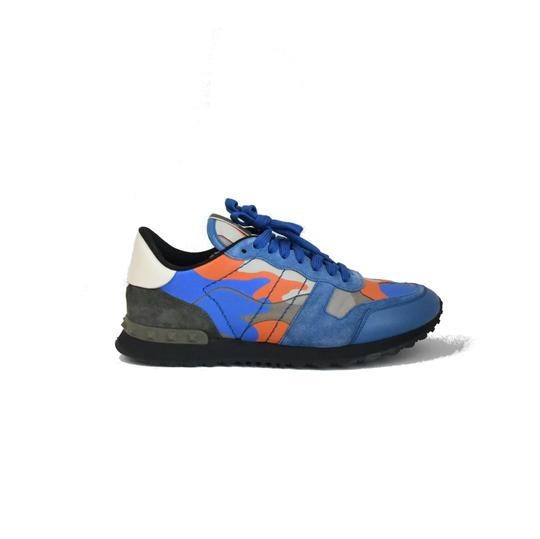 Valentino Blue Orange Athletic Image 1