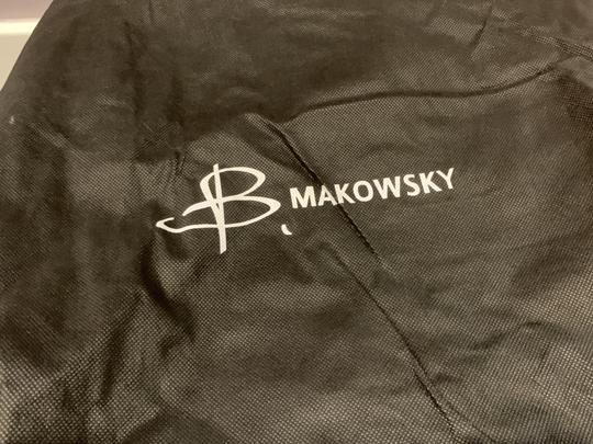 B. Makowsky Satchel in Gray Image 3