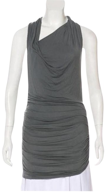 Preload https://img-static.tradesy.com/item/26025903/helmut-lang-grey-ruched-accents-tunic-size-2-xs-0-1-650-650.jpg