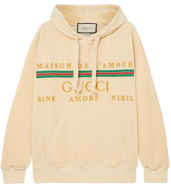 Preload https://img-static.tradesy.com/item/26026051/gucci-oversized-embroidered-cotton-blend-velour-sweatshirthoodie-size-4-s-0-1-650-650.jpg