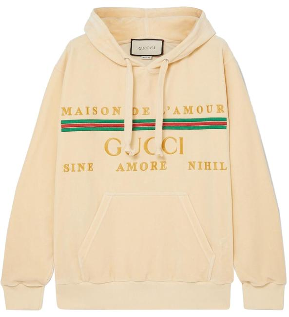 Preload https://img-static.tradesy.com/item/26026054/gucci-oversized-embroidered-cotton-blend-velour-sweatshirthoodie-size-8-m-0-1-650-650.jpg