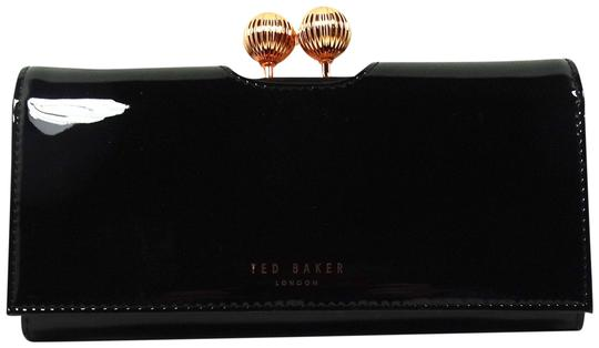 Ted Baker TED BAKER Felicee Bobble Matinee Black Leather Wallet Image 0