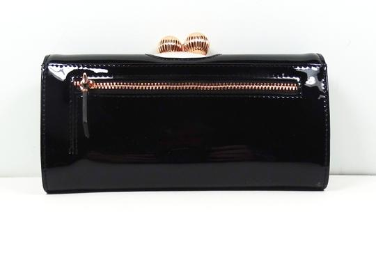 Ted Baker TED BAKER Felicee Bobble Matinee Black Leather Wallet Image 1