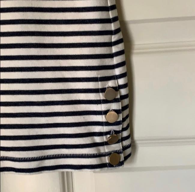 Ann Taylor Top Navy White Image 5