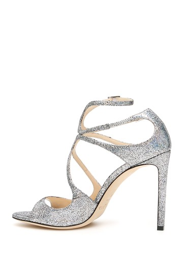 Jimmy Choo Lang Hgh Multi Silver Sandals Image 2