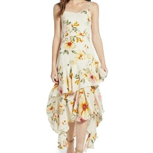 Ivory Blushing Floral Maxi Dress by Leith