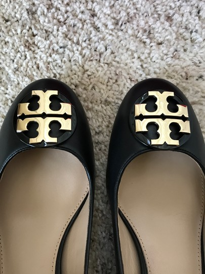 Tory Burch Janey Black Pumps Image 3