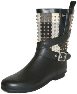 Burberry Suede Ankle Black Boots