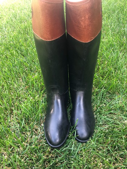 Tory Burch black and Almond Boots Image 2