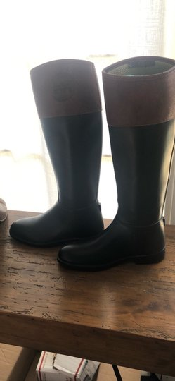 Tory Burch black and Almond Boots Image 4