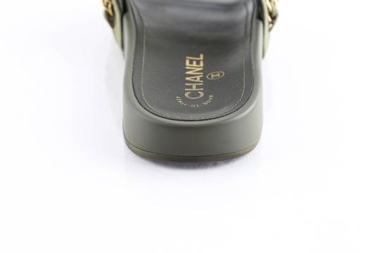 Chanel Green Mules Image 10