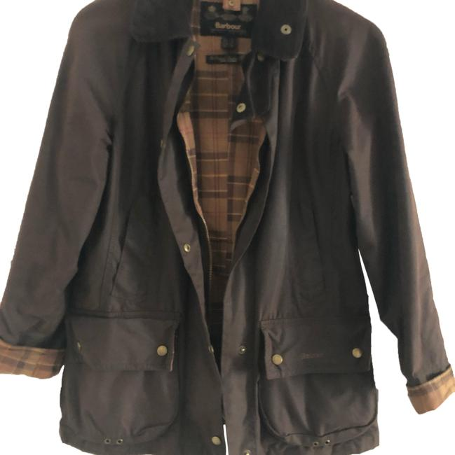 Item - Dark Brown Coat Size 6 (S)