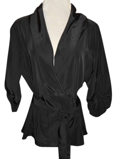 Preload https://item1.tradesy.com/images/miss-tina-black-knowles-spring-jacket-size-12-l-260275-0-0.jpg?width=400&height=650