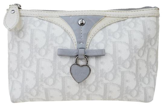 Preload https://img-static.tradesy.com/item/26027672/dior-white-christian-trotter-pattern-pouch-pvc-patent-leather-cosmetic-bag-0-1-540-540.jpg