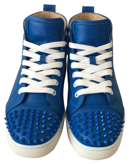 Preload https://img-static.tradesy.com/item/26027764/christian-louboutin-blue-lucido-lou-spikes-flat-calf-style-1151061-sneakers-size-eu-39-approx-us-9-r-0-1-540-540.jpg
