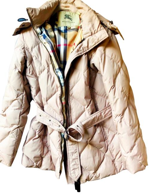 Item - Tan /Brown London Down Puffer with Detachable Hood Coat Size 4 (S)