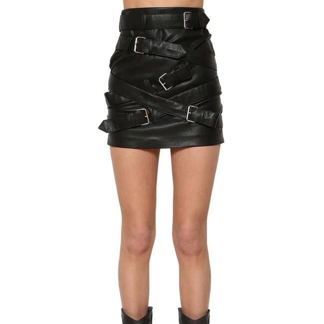 Item - Black Faux Leather Skirt Size 4 (S, 27)