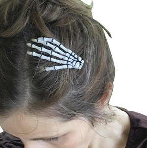 Other Skeleton Hands Barrette Halloween Hair Clips Barrettes Scary Cute
