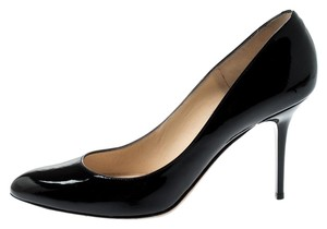 Jimmy Choo Patent Leather Leather Black Pumps
