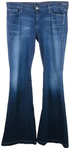 Goldsign Bellbotton Flare Virginia Hippie Trouser/Wide Leg Jeans