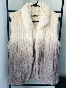 Love Token Rabbit Fur Fur Rabbit Vest