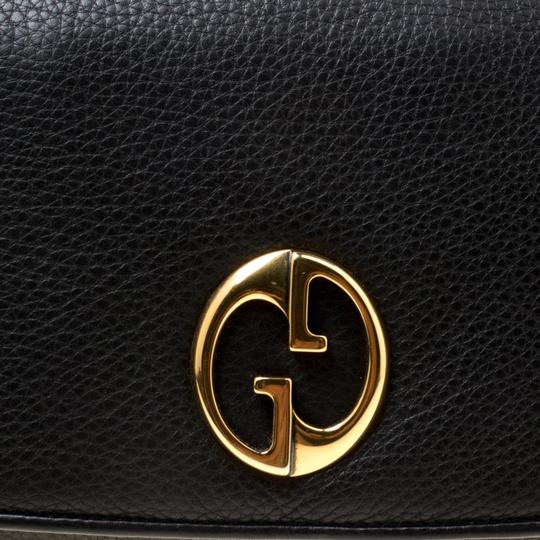 Gucci Leather Black Clutch Image 4