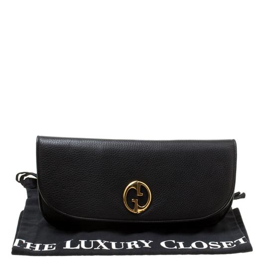 Gucci Leather Black Clutch Image 6