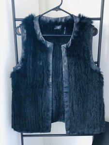 Love Token Rabbit Fur Rabbit Fur Genuine Fur Vest