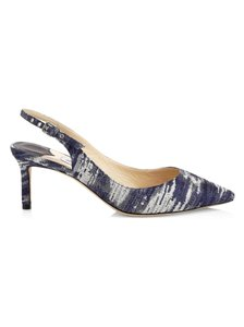 Jimmy Choo Stone blue Pumps