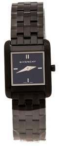 Givenchy Black PVD Coated Stainless Steel GV.5200S Women's Wristwatch 22 mm