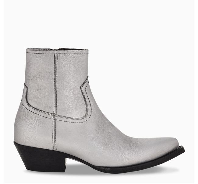 Item - Silver Df Lukas Ankle Boots/Booties Size EU 36 (Approx. US 6) Regular (M, B)