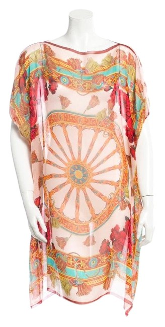 Item - Multicolor Dolce & Gabbana Fan Collection Short Casual Dress Size OS (one size)
