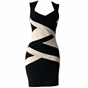 Lipsy Bandage Bodycon Stretch Lbd Dress